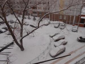 Самарский зимний дворик