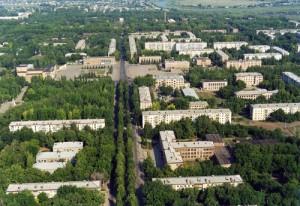 Зелёный город Отрадный