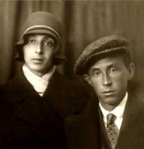 Эраст Гарин и его жена Хеся Локшина