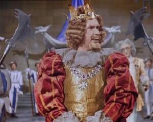 Эраст Гарин в роли короля « Золушка »