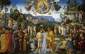 Пьетро Перуджино  - Крещение Христа