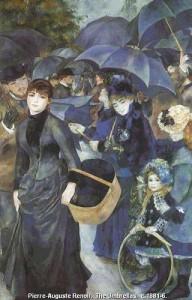 Зонтики , 1881 - 1886 Национальная галерея , Лондон