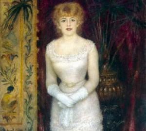 Портрет актрисы Жанны Самари - 1878