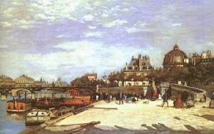 Мост искусств  в Париже 1867 , Фонд Симона Нортона