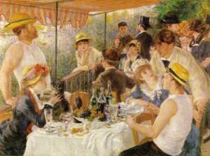 Завтрак гребцов , 1881 , Галерея Филлипса , Вашингтон