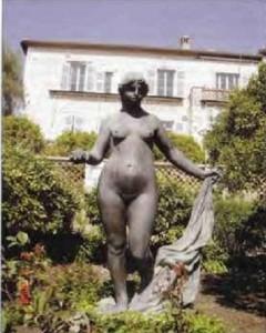 """Венера . Скульптура  в усадьбе """" Колетт """""""