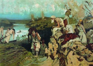 Жилье восточных славян