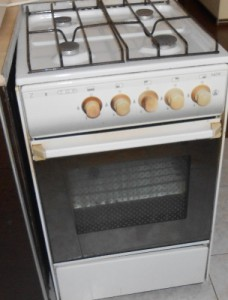 Старенькая плита