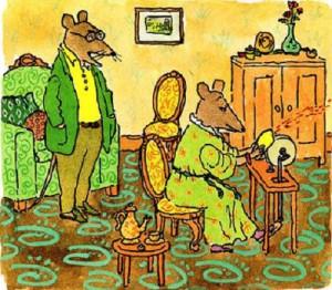 Рисунки Уильяма Стейга
