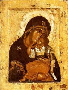 Икона Божией Матери » Умиление «