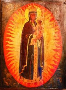 Икона Божией Матери , именуемая » Благодатное небо «