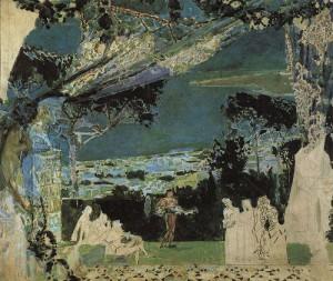 Италия. Сцены из античной жизни . 1891