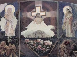 Воскресение .  Триптих . 1887