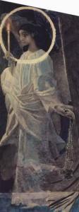 Ангел с кадилом и свечой , 1887
