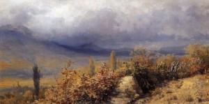 Крым. Осенний вид