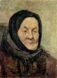Портрет старухи