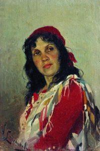 Портрет  С . П . Кувшинниковой