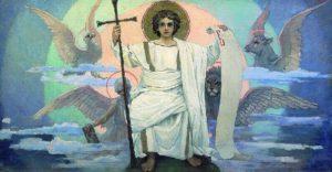 Единородный Сыне  и Словесе Божий . Росписи Владимирского собора