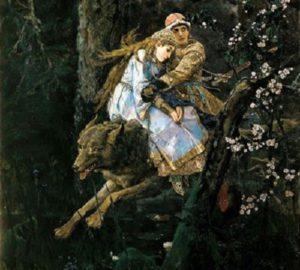 Иван — царевич  на Сером Волке