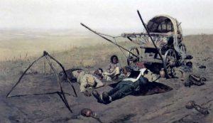 Смерть переселенца