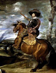 Портрет графа — герцога Оливареса