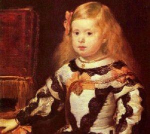 Портрет инфанты Маргариты ,  дочери Филиппа IV