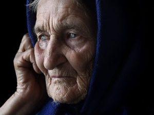 Старушка-мать ждёт...